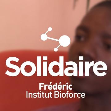 Frédéric, Institut Bioforce