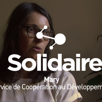 Mary, volontaire avec le SCD