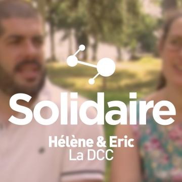 Hélène & Eric, volontaires avec la DCC
