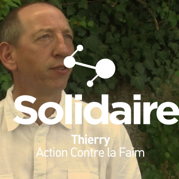 Thierry, Action contre la faim